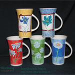 Super High Color Glazed Ceramic Mugs 3