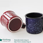 Stars Color Glazed Ceramic Coffee Mugs