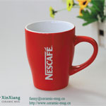 Nescafe Square Ceramic Coffee Mugs