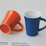 Color Glazed Ceramic Coffee Mugs 10OZ