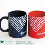 Color Glazed Ceramic Coffee Mugs