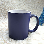 Chalk Message Stoneware Mugs