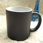 Black Matt Stoneware Mugs